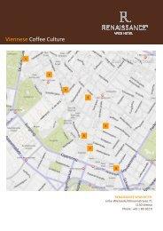 Coffeehouses Vienna - Renaissance Wien Hotel - Marriott