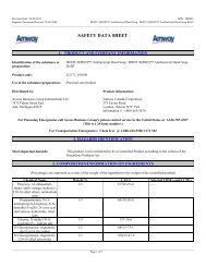 SDS - Body Series Antibacterial Hand Soap - Amway