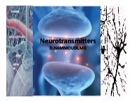 Neurotransmitters - Sinoe medical homepage.