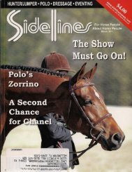 Sidelines - March 2011 - Phelps Media Group