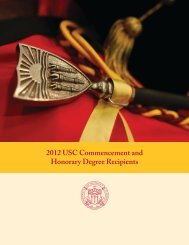 2012 USC Commencement and Honorary Degree ... - CL Max Nikias