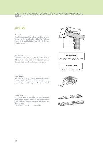 dach- und Wandsysteme aus aluminium und ... - Spaeter Duisburg