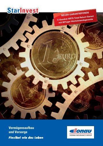 Folder StarInvest - Donau Versicherung
