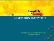March 19_Presentation_Department of Health - Regional Climate ...