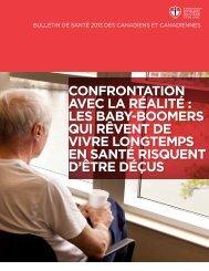 Le bulletin sur la santé au Canada 2013 de la Fondation des ...