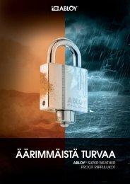 Lataa PDF - Abloy Oy