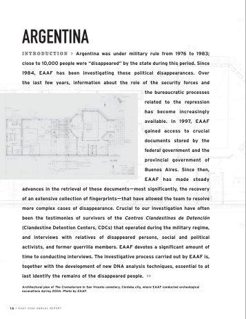 ARGENTINA - EAAF