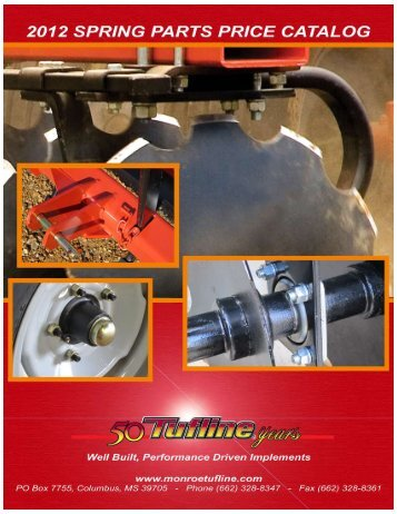 Tufline Parts - Farmco Distributing Inc