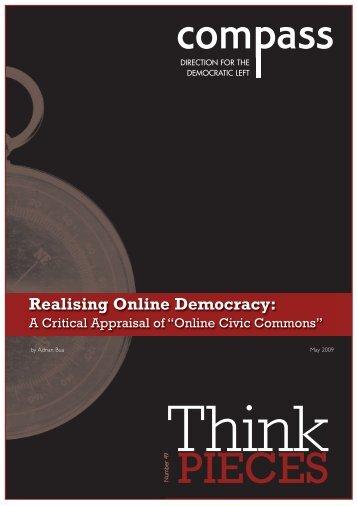 Realising Online Democracy: - Support