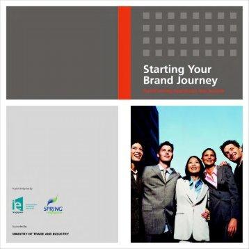 Starting Your Brand Journey - Spring