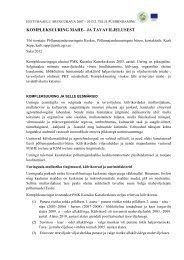 Uuringu kokkuvõte 2012 - Põllumajandusuuringute Keskus