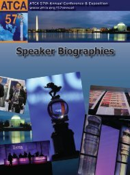 Speaker Biographies - Air Traffic Control Association
