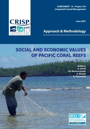 Social and economic values of Pacific Coral Reefs (PDF File) - CRISP