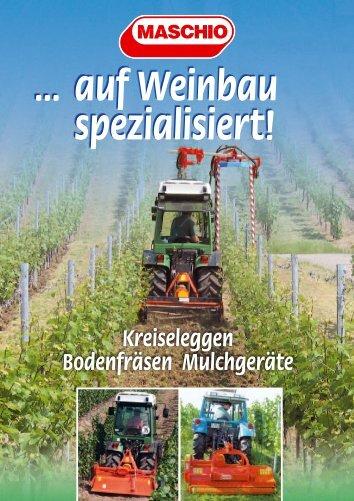 Kreiseleggen Bodenfräsen Mulchgeräte - Land24