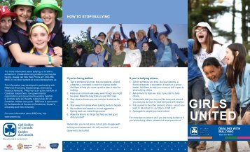 gIrlS unIted - Girl Guides of Canada.