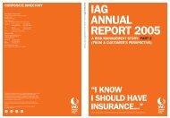 IAG annual report—Full