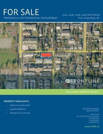 Download Brochure - Frontline Real Estate