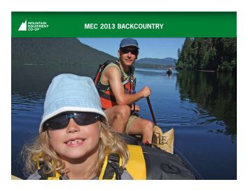 MEC - Summer 2013 - Family Camping and Day Hiking