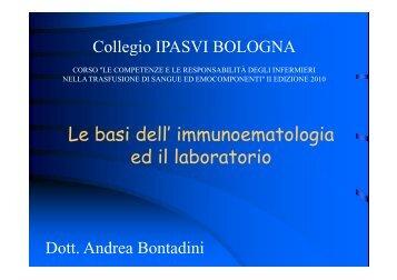 scarica slide - Collegio IPASVI Bologna