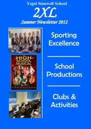 to download a copy of the Newsletter - Stanwell School