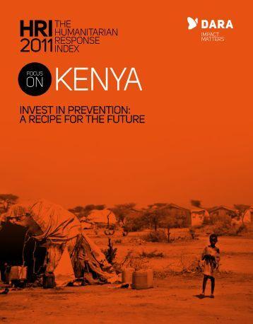 FOCUS ON KENYA report - DARA