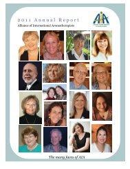 2011 Annual Report - Alliance of International Aromatherapists