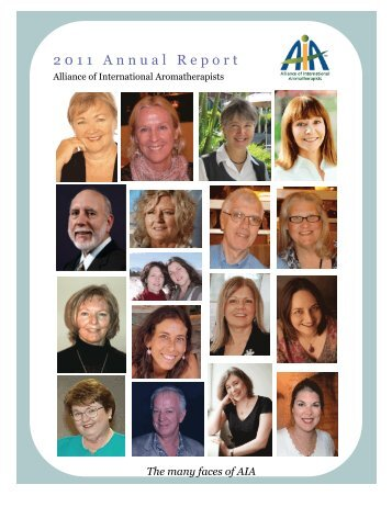 2011 Annual Report - Alliance of International Aromatherapists