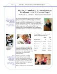 2011 Annual Report - Alliance of International Aromatherapists - Page 6