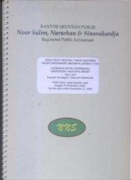 Audit 2010 - Seknas Fitra