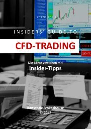 insiders' guide to cfd-trading - Hanseatic Brokerhouse