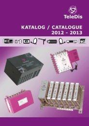 Teledis – Katalog zum Download