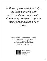 In times of economic hardship, the state's citizens - Manchester ...