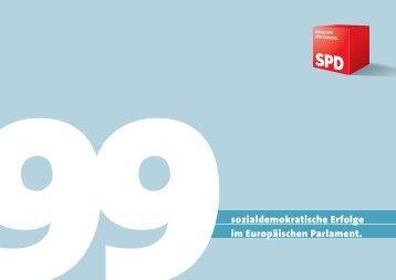 sozialdemokratische Erfolge im Europäischen Parlament. - Jo Leinen