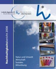 Nachhaltigkeitsbericht 2008 - Stadt Wiesloch