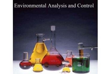 Environmental Analysis and Control - kmutt
