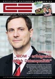 """""""MDM – erfolgreich durch Datenqualität"""""""