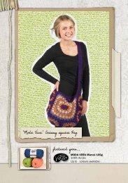 featured yarn... 'Moda Vera' Cranny square bag - Spotlight Promotions