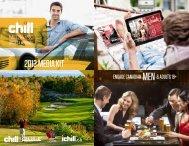 2013 Media Kit - Chill Magazine