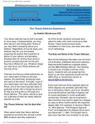 May 2000 - Division of Medical Sciences Bulletin - Harvard University