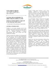 VITAMIN E 800 IU - Jamieson Vitamins