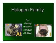 Halogen Family.ppt - Nichols School