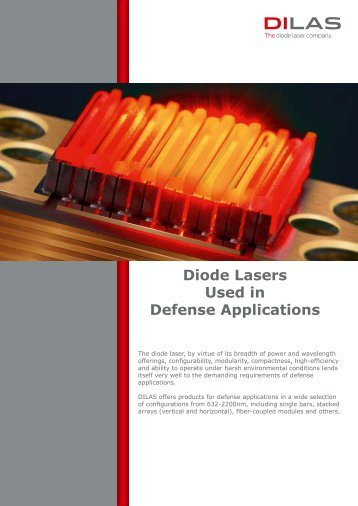 Diode Lasers Used in Defense Applications - DILAS