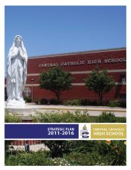 Strategic Plan - Central Catholic High School
