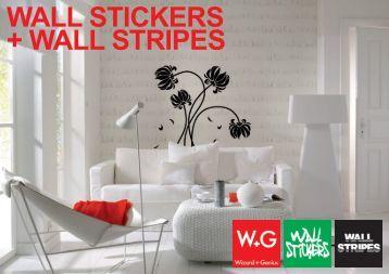 WALL STICKERS + WALL STRIPES