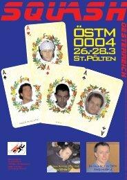 St.Pölten - beim Österreichischen Squash Racket Verband