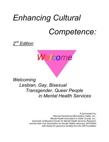 cultural competence with gay and lesbian essay