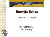 Carmen Lucia - PPE - Programa de Planejamento Energético - UFRJ
