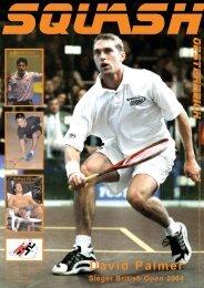 David Palmer - beim Österreichischen Squash Racket Verband