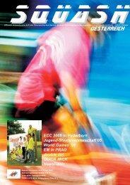 NewsFlash NÖ - beim Österreichischen Squash Racket Verband