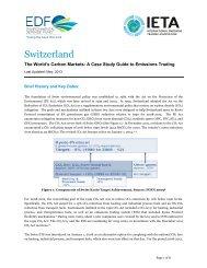 Switzerland - International Emissions Trading Association